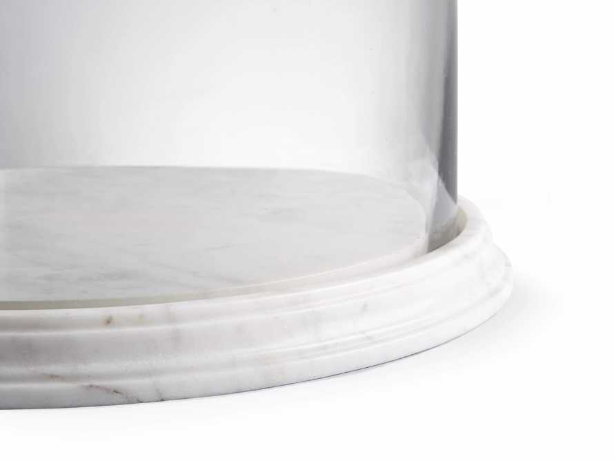 Altamura Small Glass Dome With Marble Base, slide 2 of 4