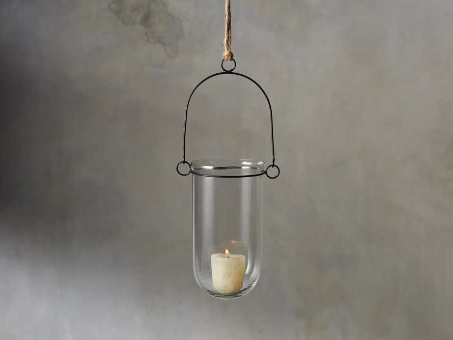 "Aliso 4"" Hanging Tealight Lantern, slide 1 of 6"