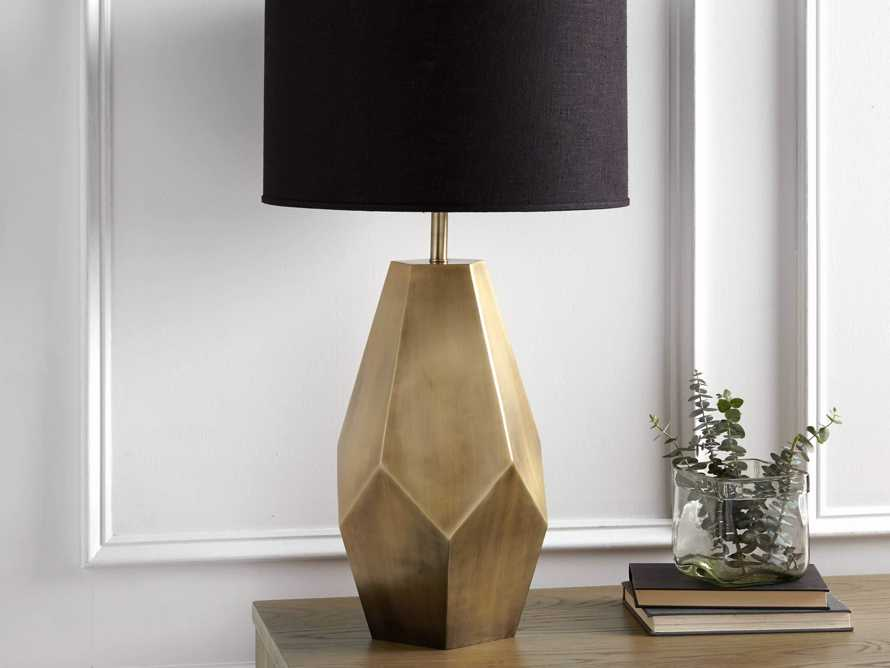 Bezier Gold Table Lamp