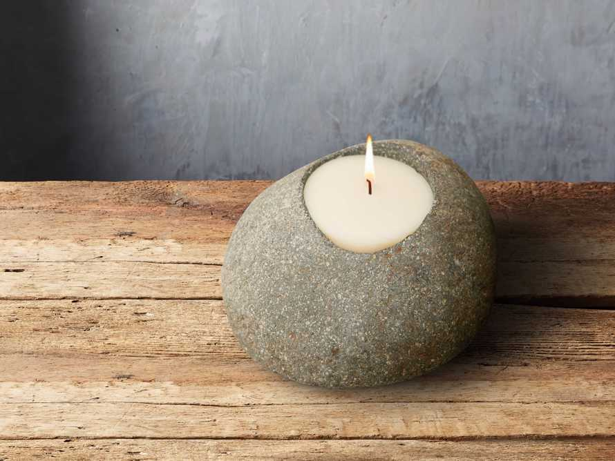 "River Stone 3"" Tealight Holder"
