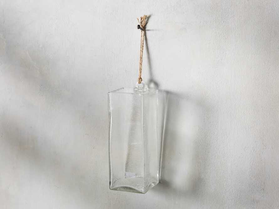 "4"" Hang Square Bubble Vase"