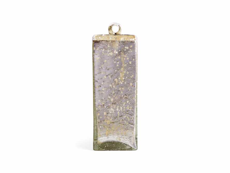"4"" Hang Square Mercury Vase, slide 4 of 5"