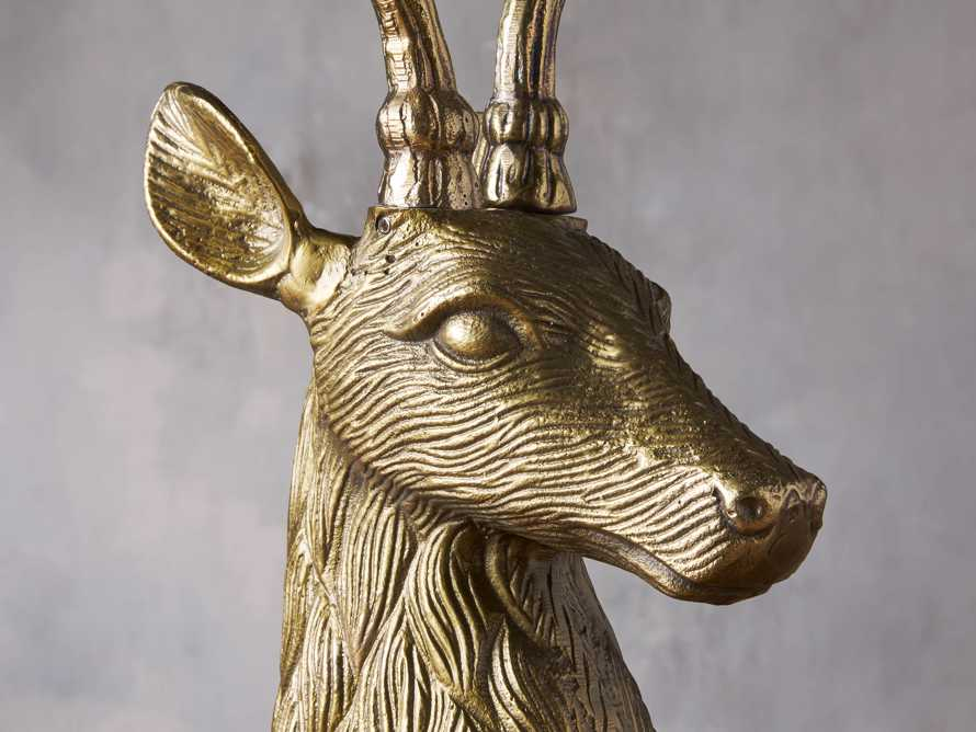 Stag Head Candle Holder, slide 2 of 2