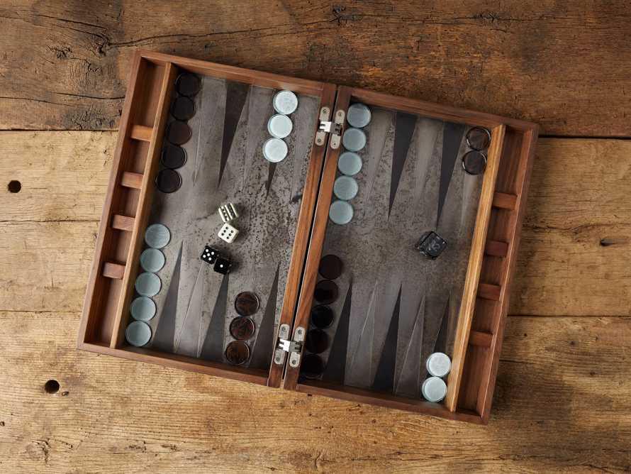 Sierra Backgammon Set, slide 1 of 6
