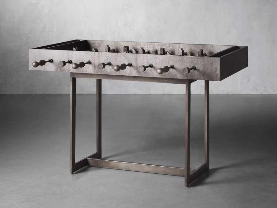 Reclaimed Wood Foosball Table, slide 2 of 6