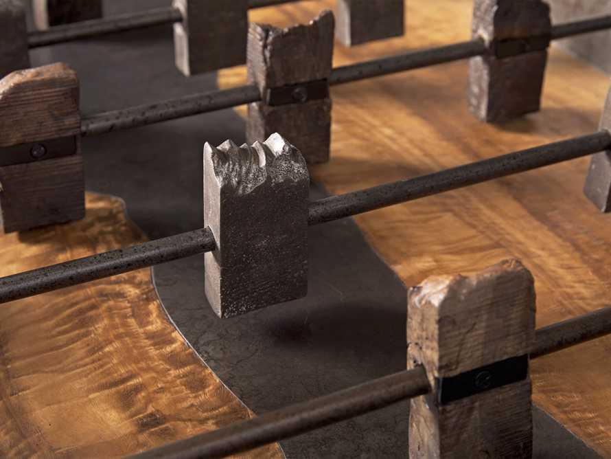 Reclaimed Wood Foosball Table, slide 3 of 6