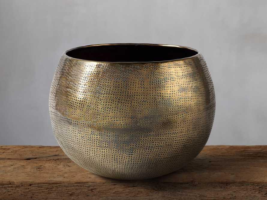 Cordova Bowl in Antique Brass, slide 2 of 9
