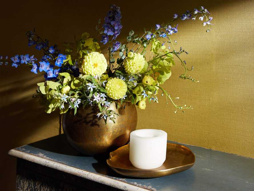Cordova Bowl in Antique Brass, slide 4 of 7