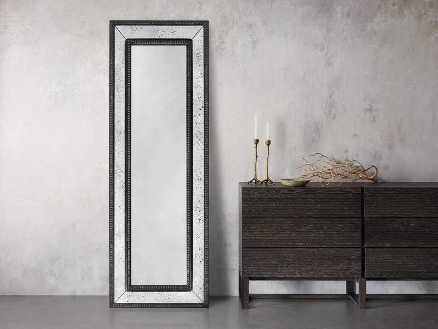 "SERANO 25"" X 72"" ANTIQUED FRAME MIRROR"