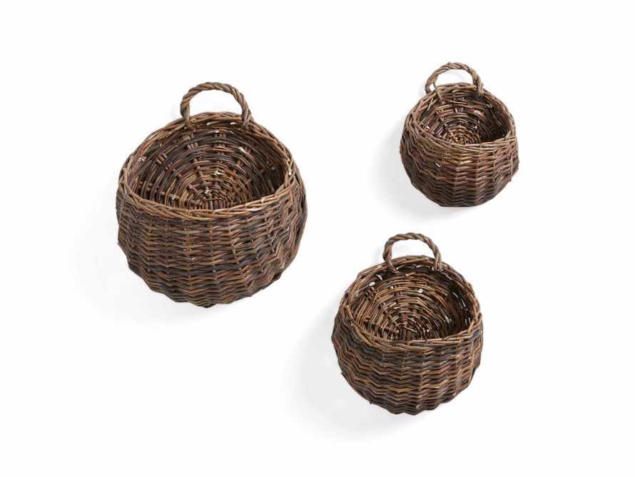 Willow Wall Basket Set (Set of 3)