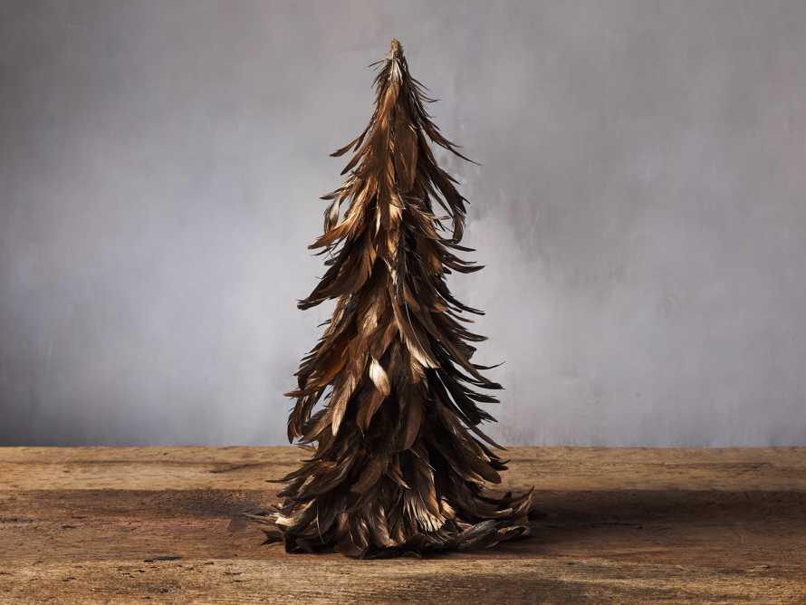 Metallic Feather Tree, slide 1 of 2