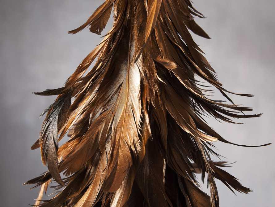 Metallic Feather Tree, slide 2 of 2