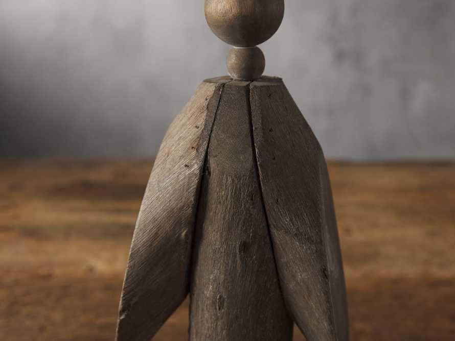 Reclaimed Wooden Angel, slide 2 of 2