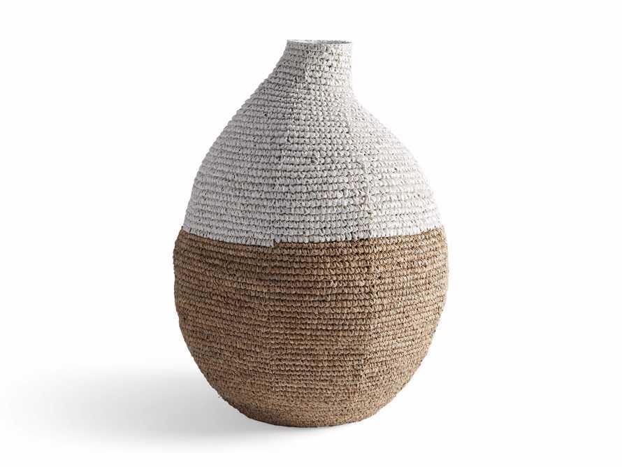 Tilos Woven Urn in Natural, slide 3 of 3