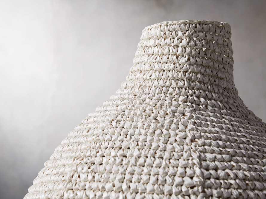 Tilos Woven Urn in Natural, slide 2 of 3