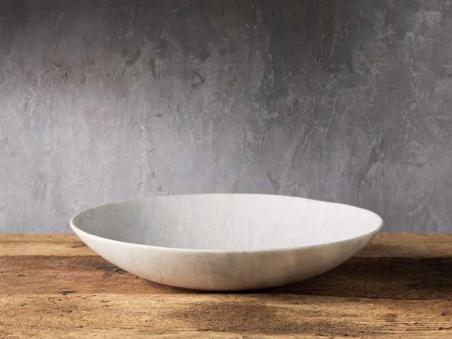 White Marble Bowl, slide 1 of 3