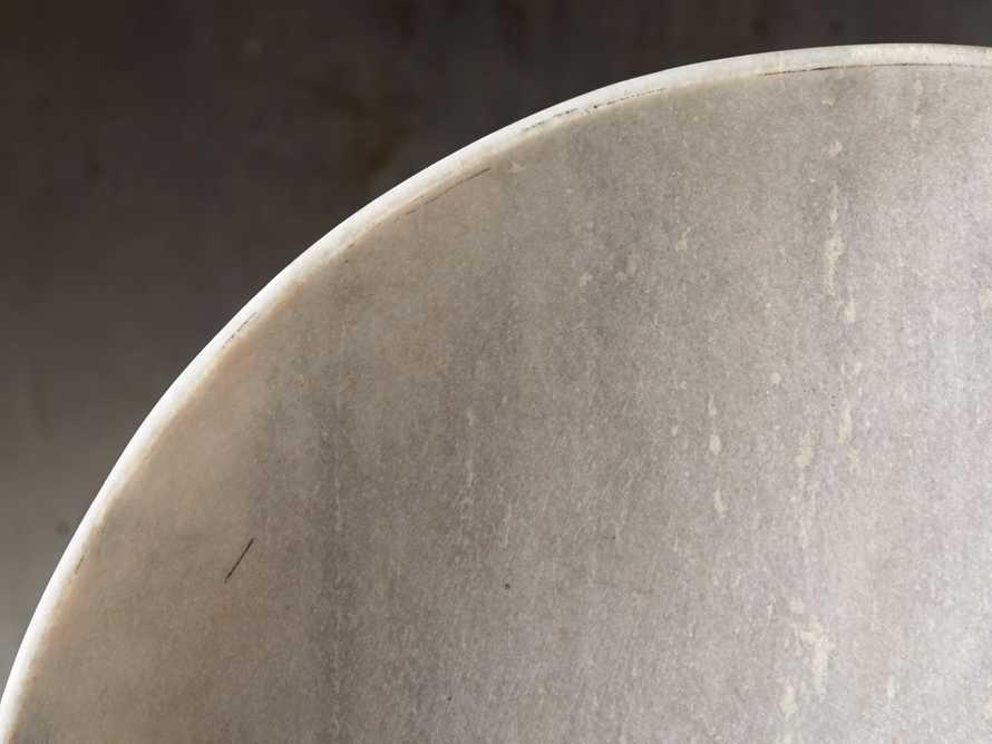 White Marble Bowl, slide 3 of 3