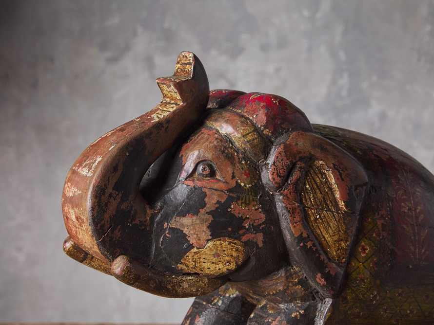 Wooden Rocking Elephant, slide 2 of 3