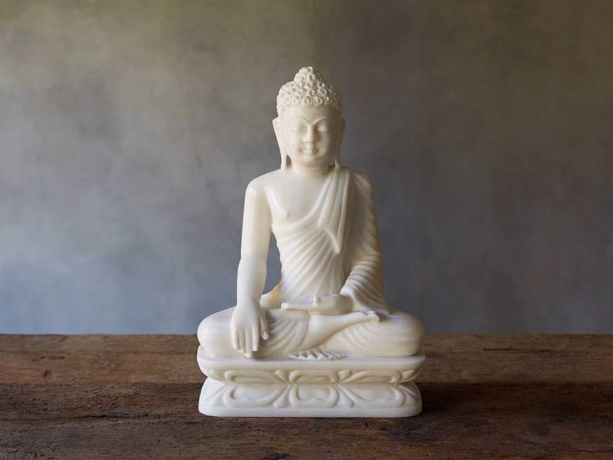 White Marble Buddha, slide 1 of 5