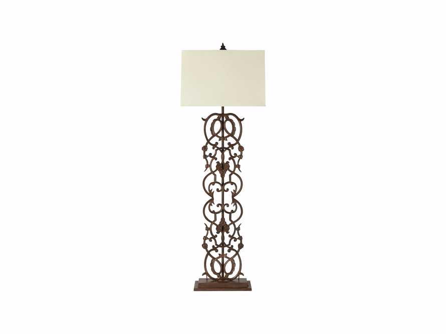 Fielding Floor Lamp In Rust