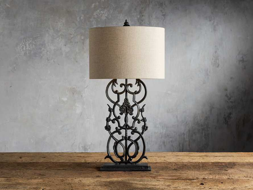 Fielding Table Lamp In Charcoal, slide 1 of 4