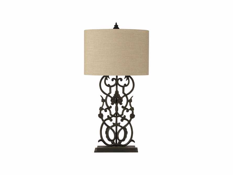 Fielding Table Lamp In Charcoal, slide 3 of 4