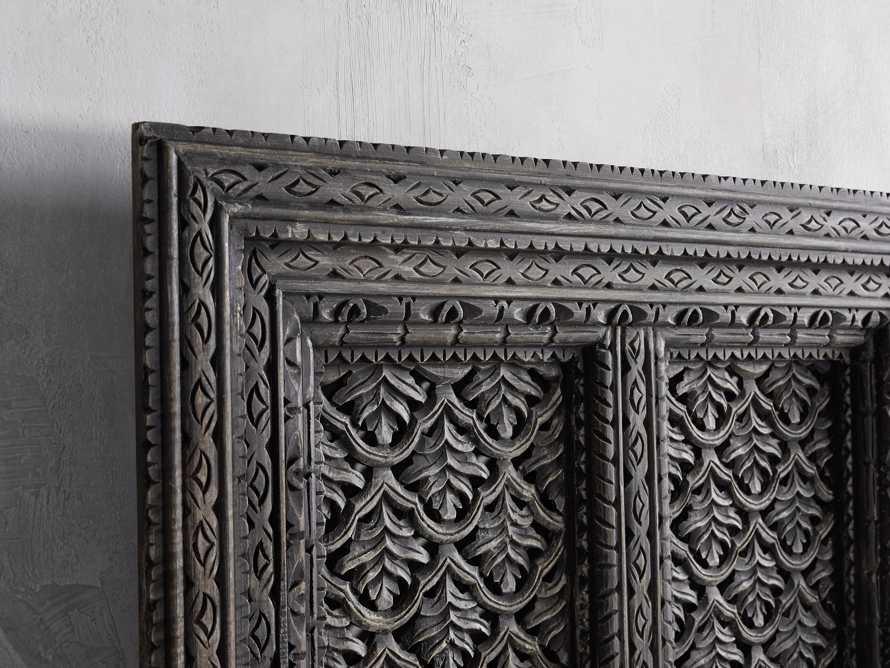 Ramani Carved Mango Wood Panel, slide 2 of 3