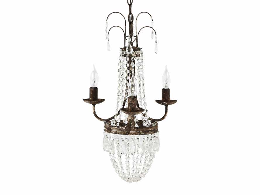 Crown Chandelier - Come take a peek at more Arhaus French Vintage Timeless Furniture, Decor and Lighting on Hello Lovely Studio.