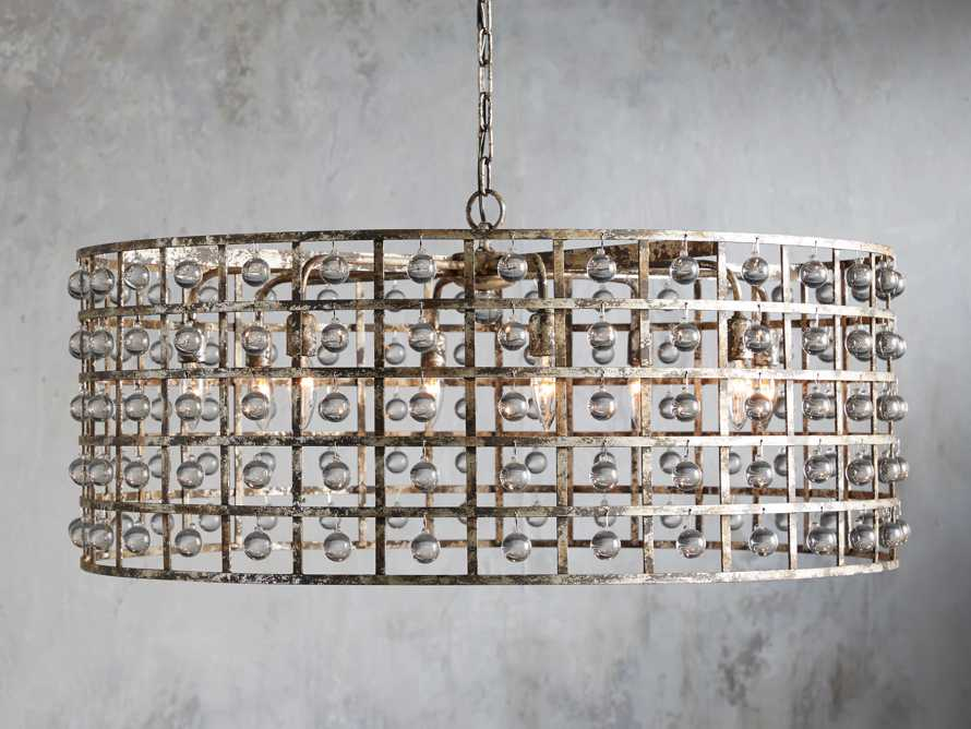 La Cage 8 Light Chandelier, slide 1 of 5