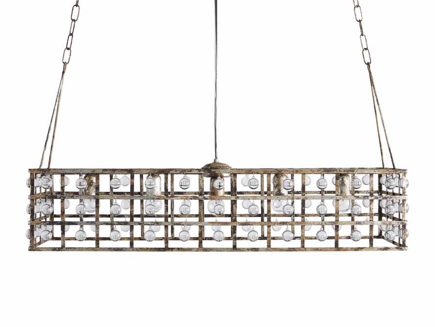 La Cage 5 Light Rectangle Chandelier