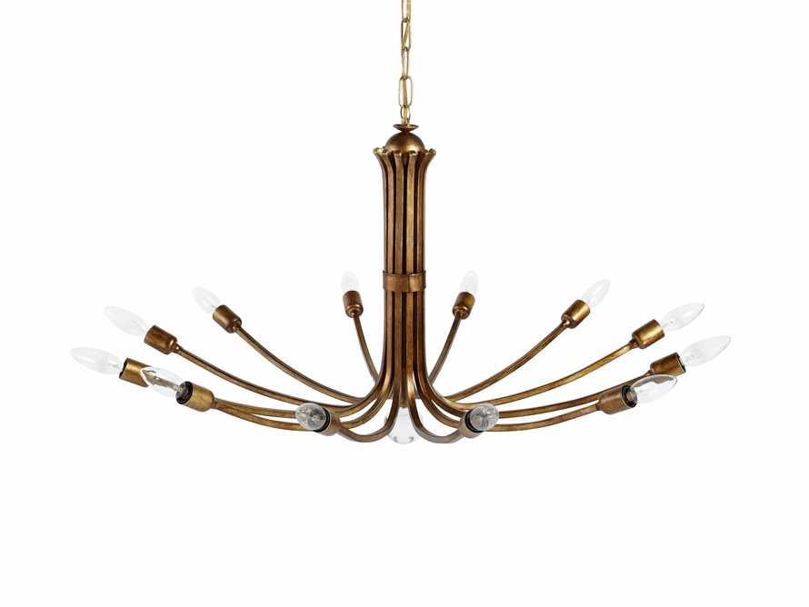 Solenna Gold Chandelier