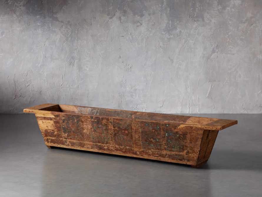 Reclaimed Wood Trough, slide 1 of 2