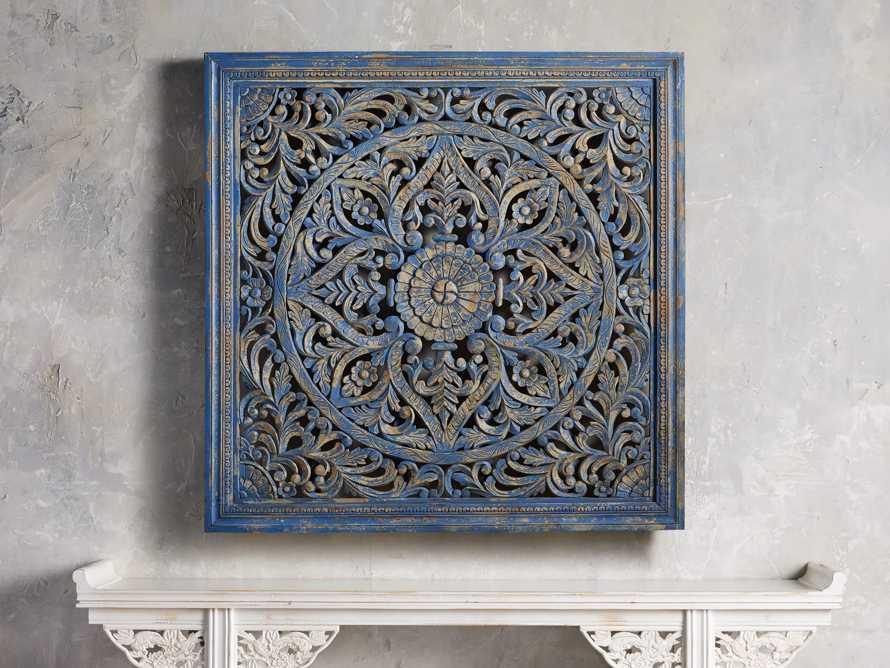 Uma Grand Panel in Blue, slide 1 of 3