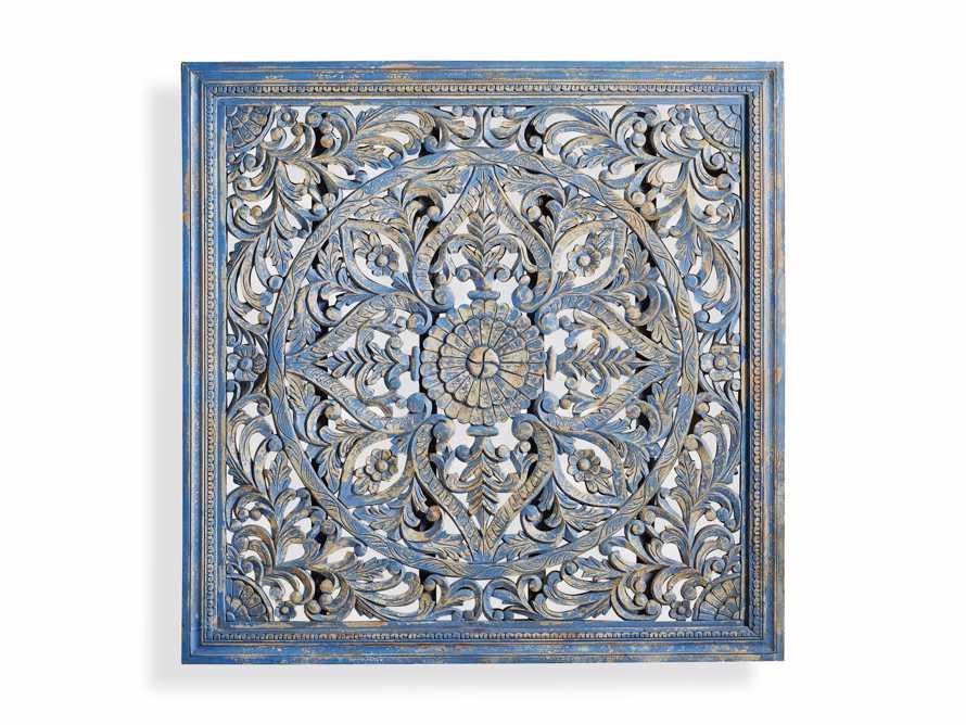 Uma Grand Panel in Blue, slide 3 of 3