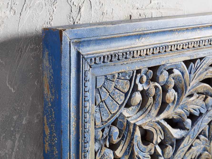 Uma Grand Panel in Blue, slide 2 of 3