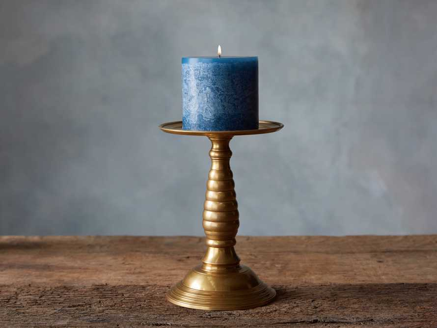 "Rustic 3"" Pillar in English Blue"