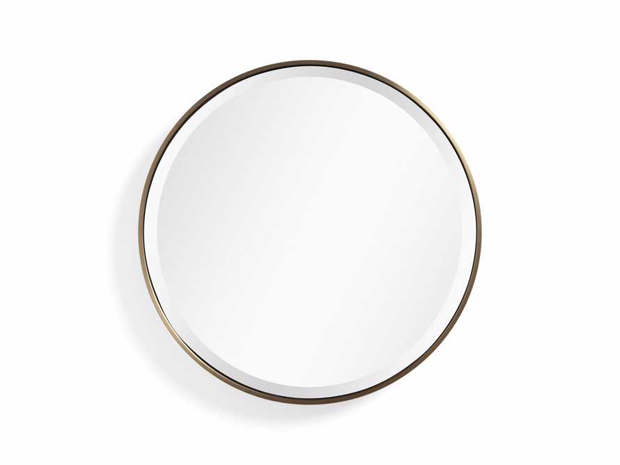 "Anders 24"" Round Mirror, slide 3 of 4"