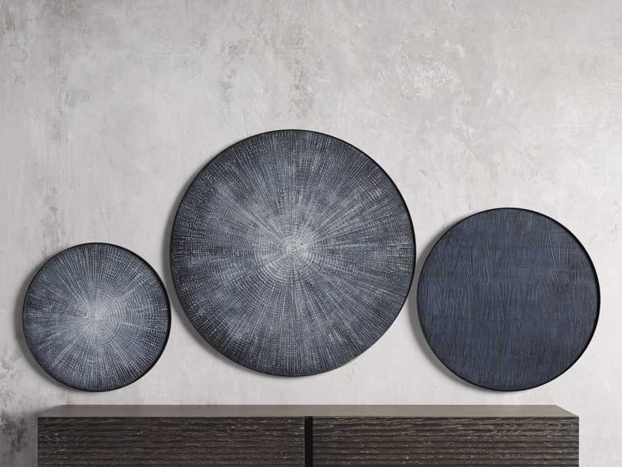 Blue Radial Wall Art I, slide 2 of 2