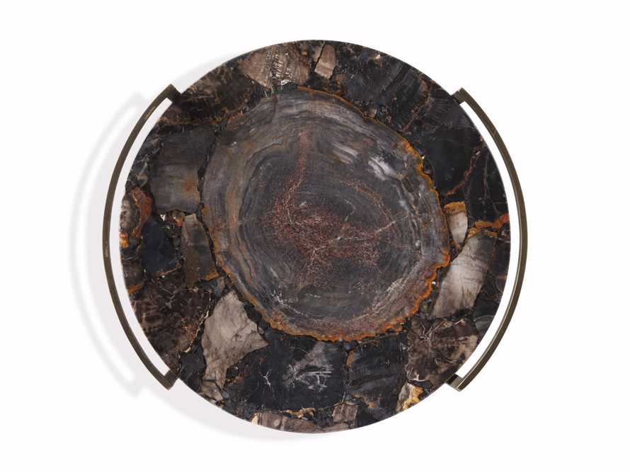 Petrified Black Wood Tray, slide 3 of 3