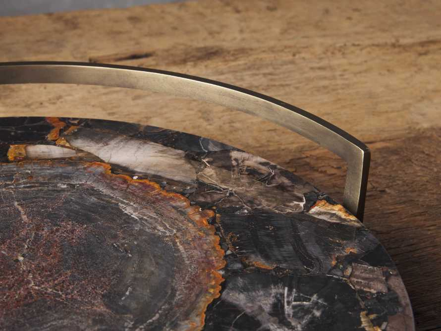 Petrified Black Wood Tray, slide 2 of 3