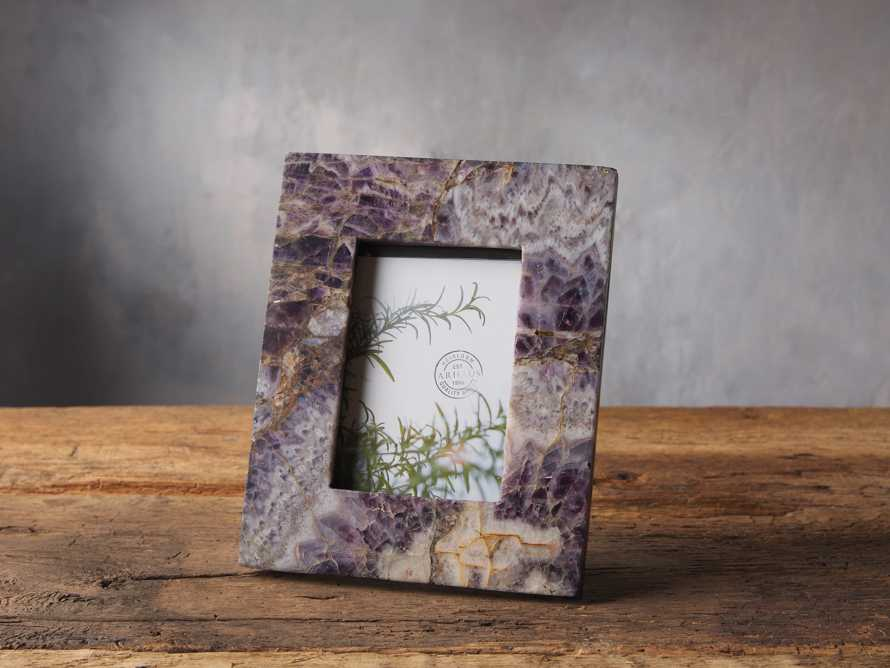 Amethyst Picture Frame 4X6, slide 1 of 1