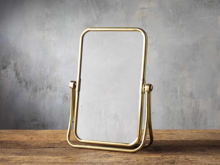 Malina Vanity in Mirror, slide 1 of 1