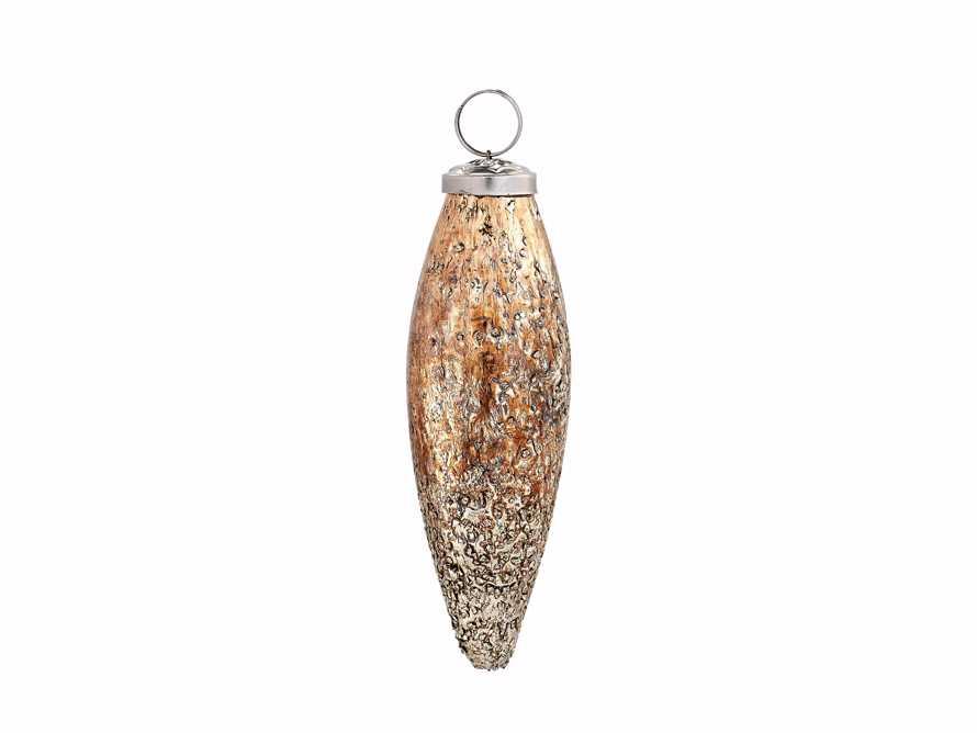 Textured Drop Ornament set
