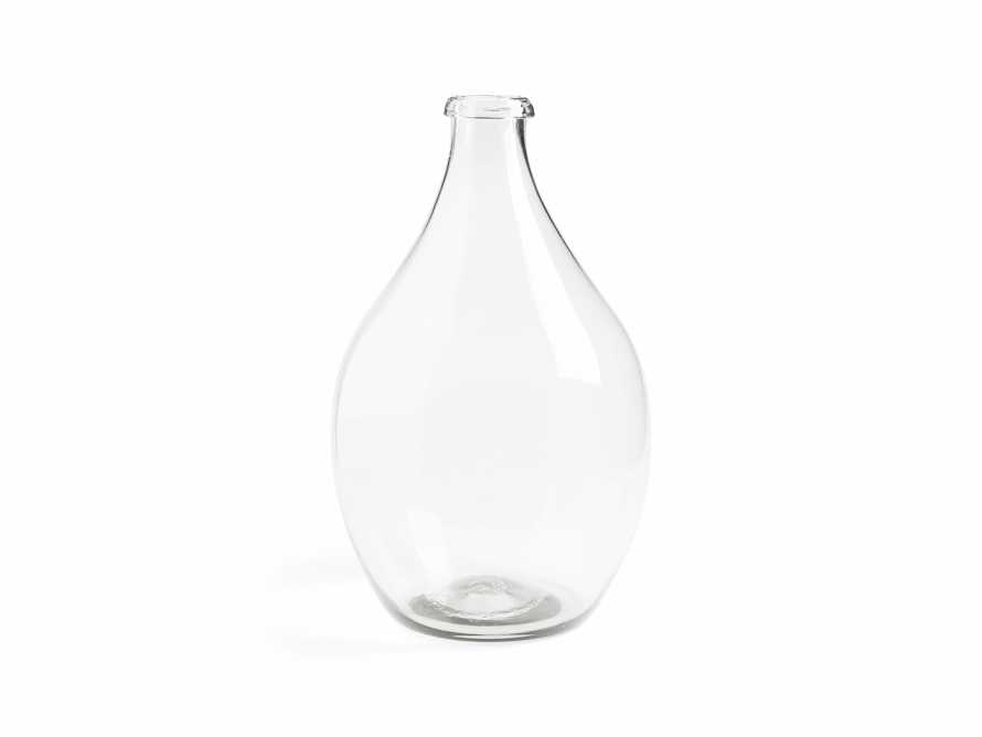 Recycled Glass Large Clear Demijohn, slide 3 of 8