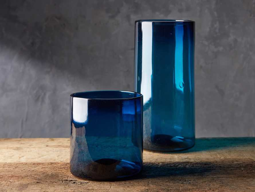 Slate Blue Small Cylinder