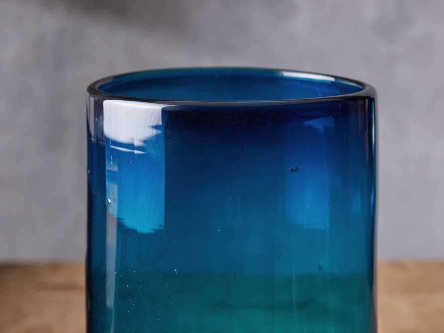 Slate Blue Large Cylinder