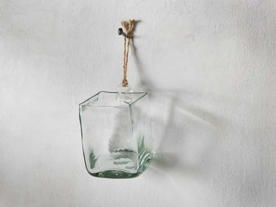Marta Small Hang Square in Recycled Glass