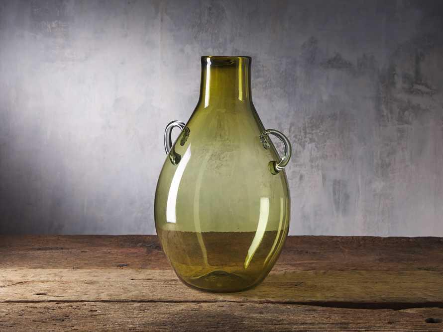 Colima Olive Handle Vase, slide 1 of 2