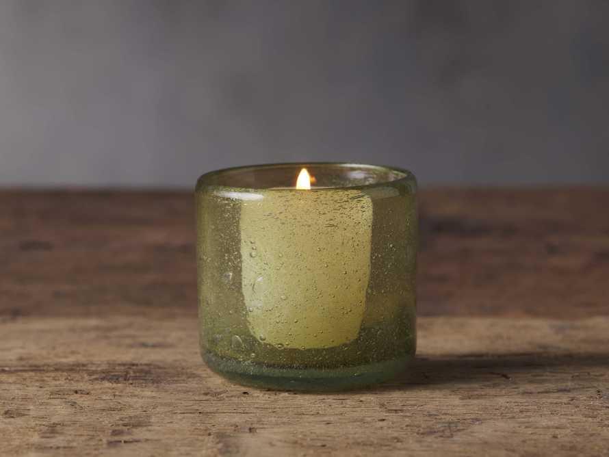 Colima Olive Tealight Holder, slide 1 of 1