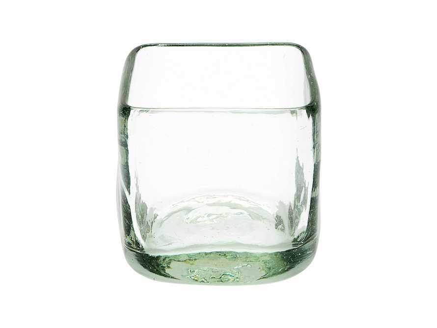 "3"" Glass Cube Vase"